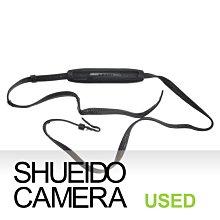 集英堂写真機【全國免運】良品 PENTAX ASAHI 原廠相機背帶 肩背帶 / 黑色 旁軸 單眼底片相機用 18764