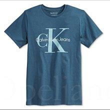 特價699元 Calvin Klein CK 卡文克萊藍色短袖潮T恤上衣棉短青少年款S號適6 7 8歲 愛Coach包包