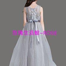 【玫瑰生活館】~ 鋼琴禮服裙~ 公主禮服,花童禮服, 鋼琴禮服, 大童長禮服裙