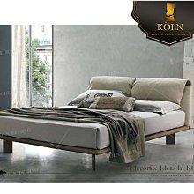 【爵品訂製家具】MF-B2-15復刻現代造型床架《 免費諮詢空間整體配置設計、專屬客制傢俱》