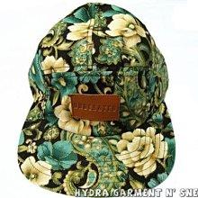 【HYDRA】英國 UNDERATED 印花 五片帽 五分割 復古 印花 花卉 RENAISSANCE FLORAL Camp Cap