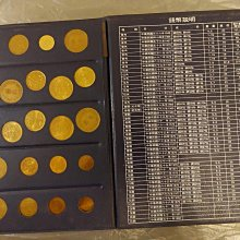 中華民國台灣硬幣集存簿《硬輔幣集存簿》共1本出售(內都各有含38年5角/五角/伍角銀幣1枚品項狀況不錯);品項狀況如照片所示!