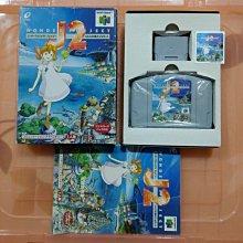 N64 J計劃2 機械少女 J2 附 記憶卡 記憶卡貼紙 (編號153)