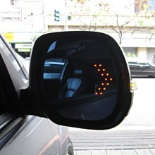 (柚子車舖) COLT PLUS ZINGER OUTLANDER FORTIS 鍍鉻雙箭頭LED方向燈後視鏡片