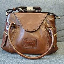 全新 The Bridge 義大利高級手工皮件品牌 gaucho-small 手提側背包