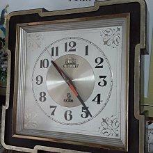 早期 日本進口 石英機心時鐘