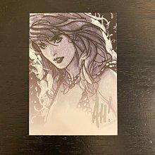 2008 DYNAMIC FORCES DF ADAM HUGHES 美國漫畫藝術家 插畫家 親筆簽名 收藏卡 卡片