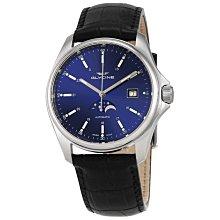 全新瑞士GLYCINE冠星Combat真正月相寶藍色自動上鍊機械錶航空錶背簍空浪琴ORIS歐米茄雷達精工星辰