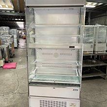 達慶餐飲設備 八里展示倉庫 全新商品 立式冷藏展示櫃
