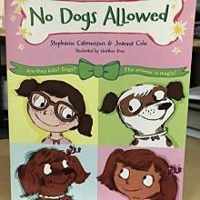 No Dogs Allowed (Ready, Set, Dogs!)兒童英文小說[台中市可面交]9成新
