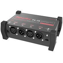 原廠 可攜式 舒伯樂 Superlux PS2B 兩用 電池供電 幻象電源 雙輸出 2軌 電容 麥克風 XLR PS2A