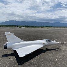 《TS同心模型》全新版本 90mm 幻象2000 KIT 白機、空機板 (EPO耐摔材質)