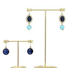 北歐風飾品架金屬時尚耳環架子展示架耳墜架子珠寶拍攝道具創意Products商店6165