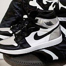 "【BS】Nike Wmns Air Jordan 1 High Og ""silver Toe""  CD0461-001"