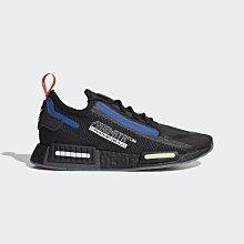 限時特價 南◇2021 6月 ADIDAS NMD_R1 SPECTOO 經典鞋 FZ3201 黑藍 運動鞋 BOOST
