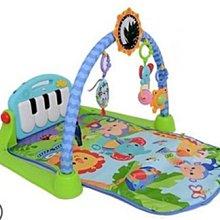 小踢的家玩具出租*A2852  費雪Fisher Price可愛動物小鋼琴健身器/遊戲墊~即可租