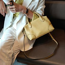 ⭐️Pat girl⭐️歐美時尚 簡約牛皮餃子包 百搭復古手提包 附2條背帶 H81000 超優質賣家⭐️拍拍妞⭐️