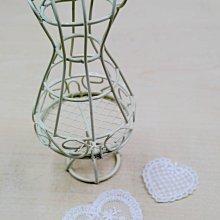 【芬妮卡Fanning服飾材料工坊】愛心型刺繡花片 棉布蕾絲 刺繡花邊 DIY手工材料 1片入 (A/B款)