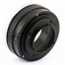 無限遠對焦+微距近攝Arri PL阿萊電影鏡頭轉Micro M4/3機身轉接環PANASONIC GF9 GF8 GF7
