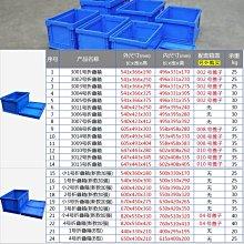 阿里家 物流周轉箱折疊周轉箱框子可堆式物流箱周轉箱收集收納箱塑料筐/聯繫即時通報價