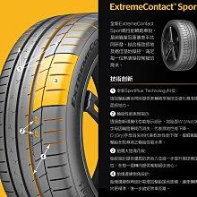 小李輪胎 德國馬牌 ExtremeContact Sport (EXC SP) 225-45-18 特價 各規格歡迎詢價