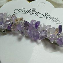 ♥精品百貨♥ 漂亮天然雙層紫黃晶髮飾~現貨