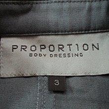 日系 PROPORTION 無印風  極簡風   有腰身 袖口開衩 可反摺做造型 西裝外套/3