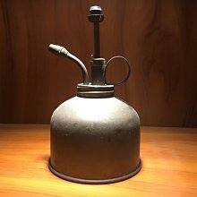 古董 銅製 氣壓  煤油燈 噴水壺