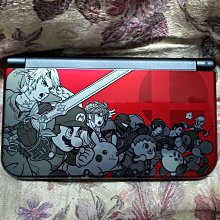 3DS New 3DS LL 任天堂明星大亂鬥 限定版 日規主機 (不含遊戲、不含充電變壓器)  日版 二手品