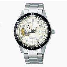 可議價 SEIKO精工錶Premier 男 三眼鏤空時尚 機械腕錶 (SSA423J1) 40.8mm
