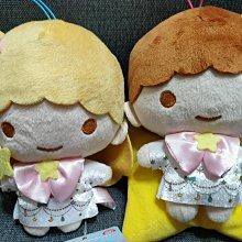 日本SANRIO正版授權,非賣限定景品--[雙子星TWIN LITTLE STARS]40周年限定紀念絨毛娃娃四隻一組(Kiki Lala 獨角獸兩隻)