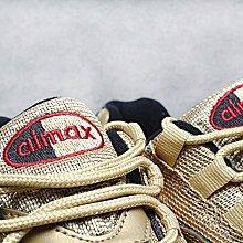 D-BOX NIKE Air Max 95 OG 液態金 金子彈 氣墊 慢跑鞋