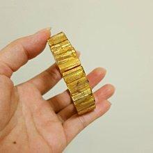 A5-2天然鈦晶手排14mm,頂級滿絲清透料亮度強,24K金光澤,超好看,六大能量鈦晶聚財聚集正能量