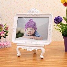 【相框-7寸-多種款式可選-1個/組】精美高檔寶寶擺台創意兒童歐式婚紗相框七寸影樓相架-727001