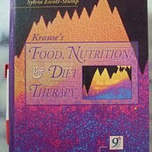 A3☆1996年『Krauses Food, Nutrition and Diet Therapy』Saunders著《Sylvia Escott-Stump》