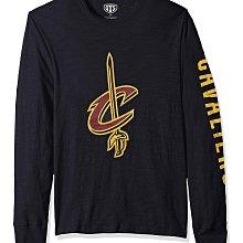 NBA 克利夫蘭騎士隊 長袖T恤【S】【M】【XL】 官方授權 Cleveland Cavaliers 深海軍藍色