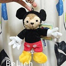 《香港迪士尼 現貨》Duffy扮米奇造型吊飾