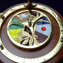 【路卡傢飾~藝術收藏】古董藝術 萬花筒 萬花鏡 万華鏡 海豚音樂盒 裝飾品 擺飾