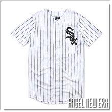 【ANGEL NEW ERA】MLB 球衣 芝加哥 白襪 球衣 Majestic 線條 球迷版 吸濕 排汗 速乾 網眼