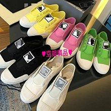 ♥空姐精品♥春夏新品 小香風格四季基本款小白鞋 帆布鞋 休閒鞋
