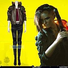 【可開發票】賽博朋克2077 cos服 女主同款cosplay服裝全套[Cos-精選]
