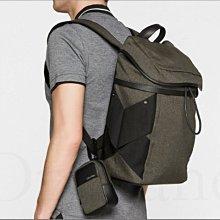真品 CK Calvin Klein 卡文克萊超大款容量大後背包登山包旅遊包 大包+小包 母子包 出國 愛Coach包包