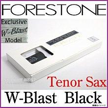 §唐川音樂§ FORESTONE【Black Bamboo-W Blast 竹纖維/次中音薩克斯風(單片裝)】(日本製)