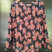 美國品牌 Ann Taylor LOFT 春天花朵長袖印花上衣