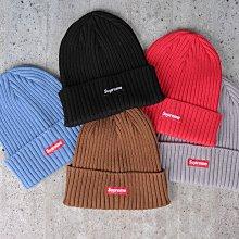 【HYDRA】Supreme Overdyed Beanie 小Logo 針織 毛帽 【SUP491】