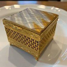 Vintage box's Florenza 仿貝殼珠寶盒、飾品盒