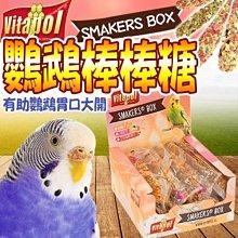 【🐱🐶培菓寵物48H出貨🐰🐹】Vitapol維他寶》小型鸚鵡磨牙棒棒糖-45g/支特價35元自取不打折