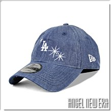 【ANGEL NEW ERA】NEW ERA MLB LA 洛杉磯 道奇 閃光 牛仔布 軟版 老帽 9FORTY