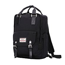 【24小時急速出貨】Heine 時尚多功能媽媽包 爸爸包 媽咪包 後背包 雙肩包 外出包 旅行包 大容量 大開口- 黑色