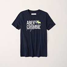 【A&F男生館】☆【Abercrombie LOGO刺繡短袖T恤】☆【AF002A2】青年版(13/14-15/16)4/19